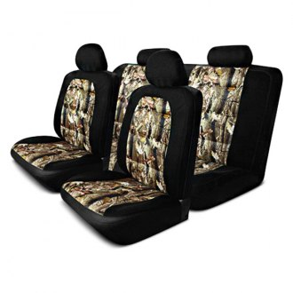 Pilot® - Black Camo Mesh Seat Cover Kit