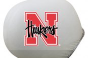 Pilot® - Universal Collegiate Mirror Covers with Nebraska Logo