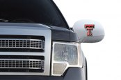 Pilot® - Collegiate Mirror Covers with Texas Tech Logo