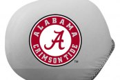 Pilot® - Universal Collegiate Mirror Covers with Alabama Logo