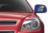 Pilot® - Collegiate Mirror Covers with Kansas Logo