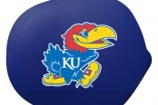 Pilot® - Universal Collegiate Mirror Covers with Kansas Logo