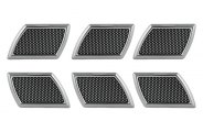 Pilot® - Chrome Side Vents with Mesh