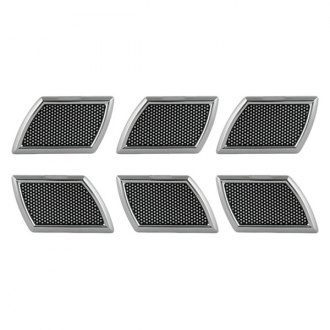 Pilot® - Chrome Side Vents wirh Black Mesh