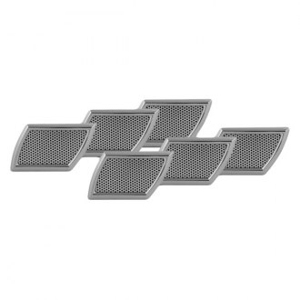 Pilot® - Chrome Side Vents with Silver Mesh