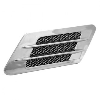 Pilot® - Chrome Dual Bar Fender Vents