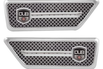 Pilot® - Dub Fender Vents with Chrome Mesh
