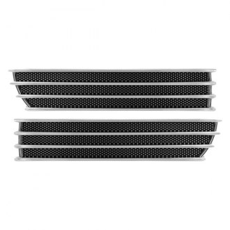Pilot® - M-Style Mesh Chrome Fender Vents