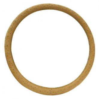 Pilot® - Tan Ostrich Steering Wheel Cover