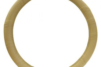 Pilot® - Sport Tan Genuine Leather Steering Wheel Cover