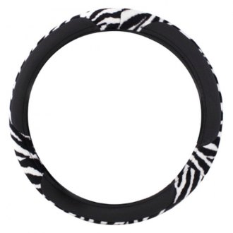 Pilot® - Black Zebra Foam Steering Wheel Cover