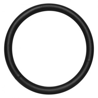 Pilot® - Black Synthetic Leather Steering Wheel Cover