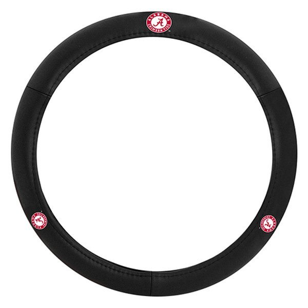 Pilot® SWC-908 - Leather Steering Wheel Cover with Alabama Logo