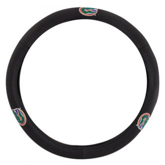 Pilot® - Leather Steering Wheel Cover with Florida Logo