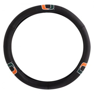 Pilot® - Leather Steering Wheel Cover with Miami Logo