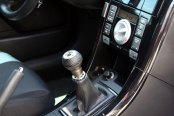 Pilot® - Nickel with Black Leather Manual Shift Knob