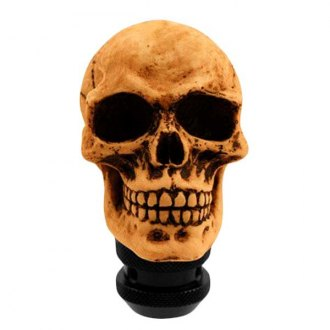 Pilot® - Lifelike Skull Manual Shift Knob