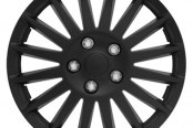 Pilot® - All Black Indy Wheel Covers 15""