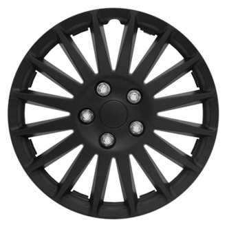 "Pilot® - 15"" All Black Indy Wheel Covers"