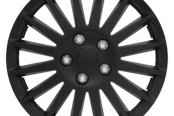 Pilot® - All Black Indy Wheel Covers 16""