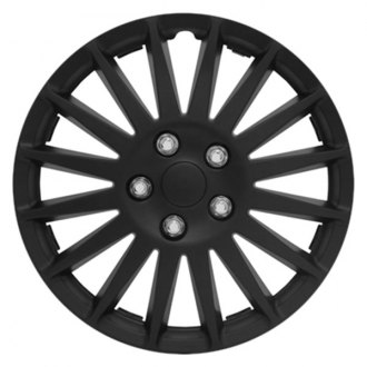 "Pilot® - 16"" All Black Indy Wheel Covers"