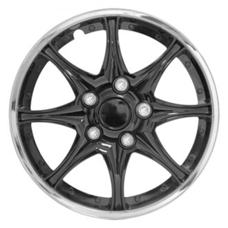 "Pilot® - 14"" Black Chrome Wheel Covers"