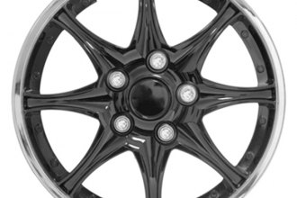Pilot® - Black Chrome Wheel Covers