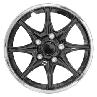 "Pilot® - 15"" Black Chrome Wheel Covers"