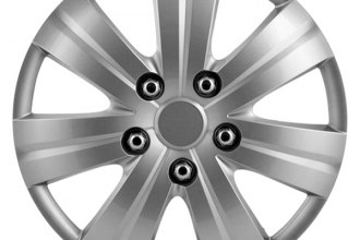 Pilot® - Matte Silver Wheel Covers
