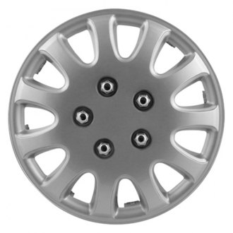 "Pilot® - 14"" 5 Lug Silver Wheel Covers"