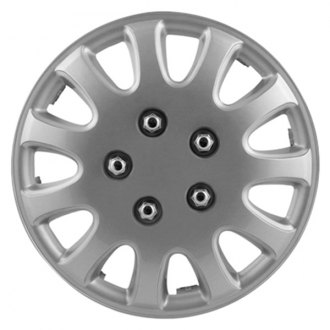 "Pilot® - 15"" 5 Lug Silver Wheel Covers"