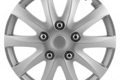 Pilot® - Camry Style Silver Wheel Covers 15""