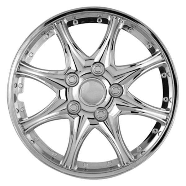 "Pilot® - 14"" 8 Star Chrome Wheel Covers"