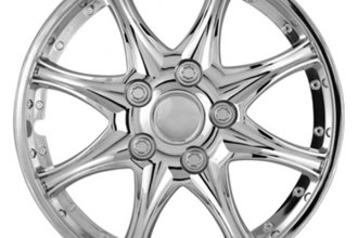 Pilot® - 8 Star Chrome Wheel Covers 14""