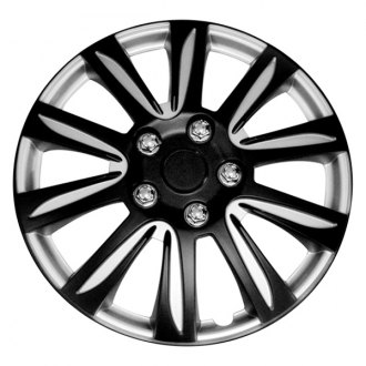 "Pilot® - 15"" Black Label Premier Wheel Covers"