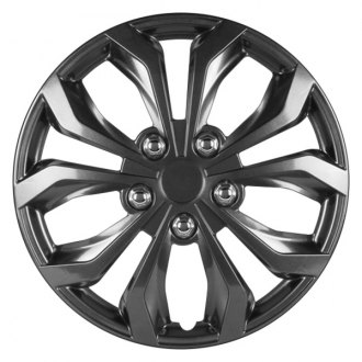 "Pilot® - 14"" Gunmetal Performance Wheel Covers"