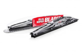 Pilot® - Arista Gun Metal Dual Driver Side Wiper Blade 22""
