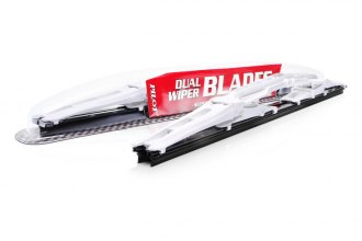 Pilot® - Arista White Dual Passenger Side Wiper Blade 18""