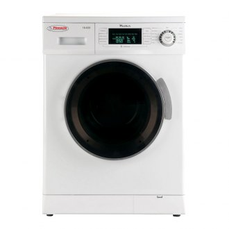 Pinnacle Appliances® - White with Silver Trim Clothes Washer