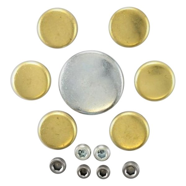 Pioneer Automotive® - Poly Bagged Brass Expansion Plug Kit