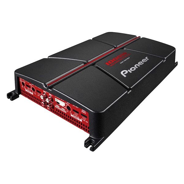 Pioneer® - GM Series Class AB 4-Channel 1000W Amplifier