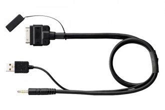 Pioneer® - USB-to-iPhone/iPod Adapter Interface Cable