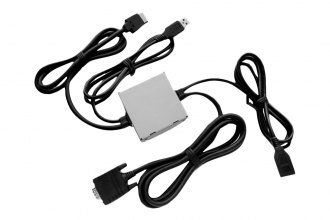 Pioneer® - iPhone 5 VGA Interface Cable Kit for AppRadio Mode