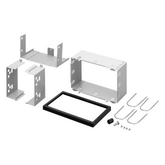 Pioneer® - Double DIN Black Stereo Dash Kit