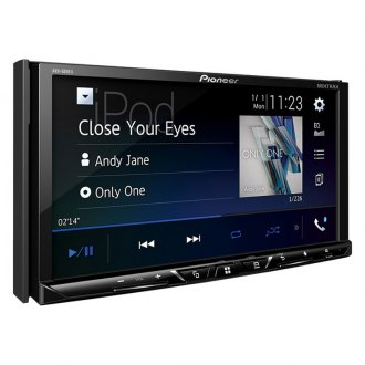 "Pioneer® - Double DIN DVD/CD/AM/FM/MP3/WMA/AAC/FLAC/WMV/MP4/AVI Receiver with 7"" Touchscreen Display, Built-In Bluetooth, GPS Ready and SiriusXM Ready"