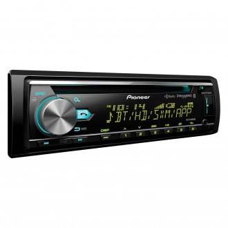 Pioneer® - Single DIN CD/AM/FM/MP3/WMA/AAC/FLAC Receiver with Built-In Bluetooth, HD Radio and SiriusXM Ready