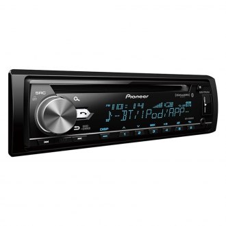 Pioneer® - Single DIN CD/AM/FM/MP3/WMA/AAC/FLAC Receiver with Built-In Bluetooth, SiriusXM Ready
