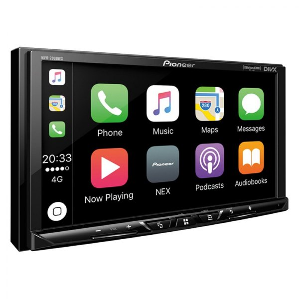 "Pioneer® - Double DIN CD/AM/FM/MP3/WMA/AAC/FLAC/WMV/AVI Receiver with 7"" Touchscreen Display, Built-In Bluetooth and SiriusXM Ready"