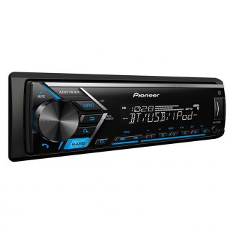 Pioneer® - Single DIN AM/FM/MP3/WMA/AAC/FLAC Digital Media Receiver with Built-In Bluetooth