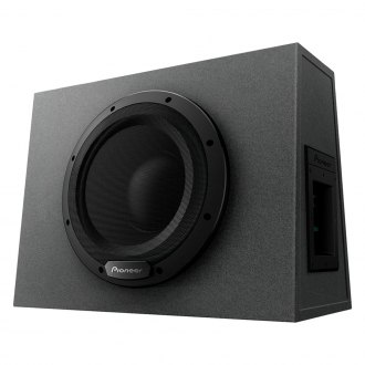 "Pioneer® - 10"" Sealed Powered 1100W Subwoofer Enclosure"